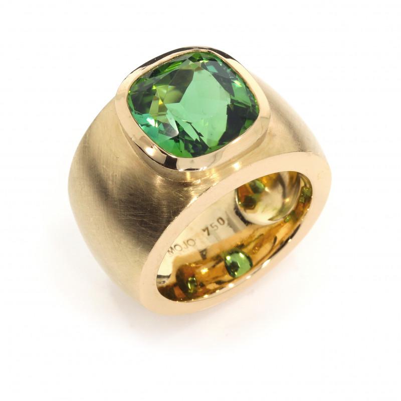 Ring Turmalin grün Roségold (1005025.5)