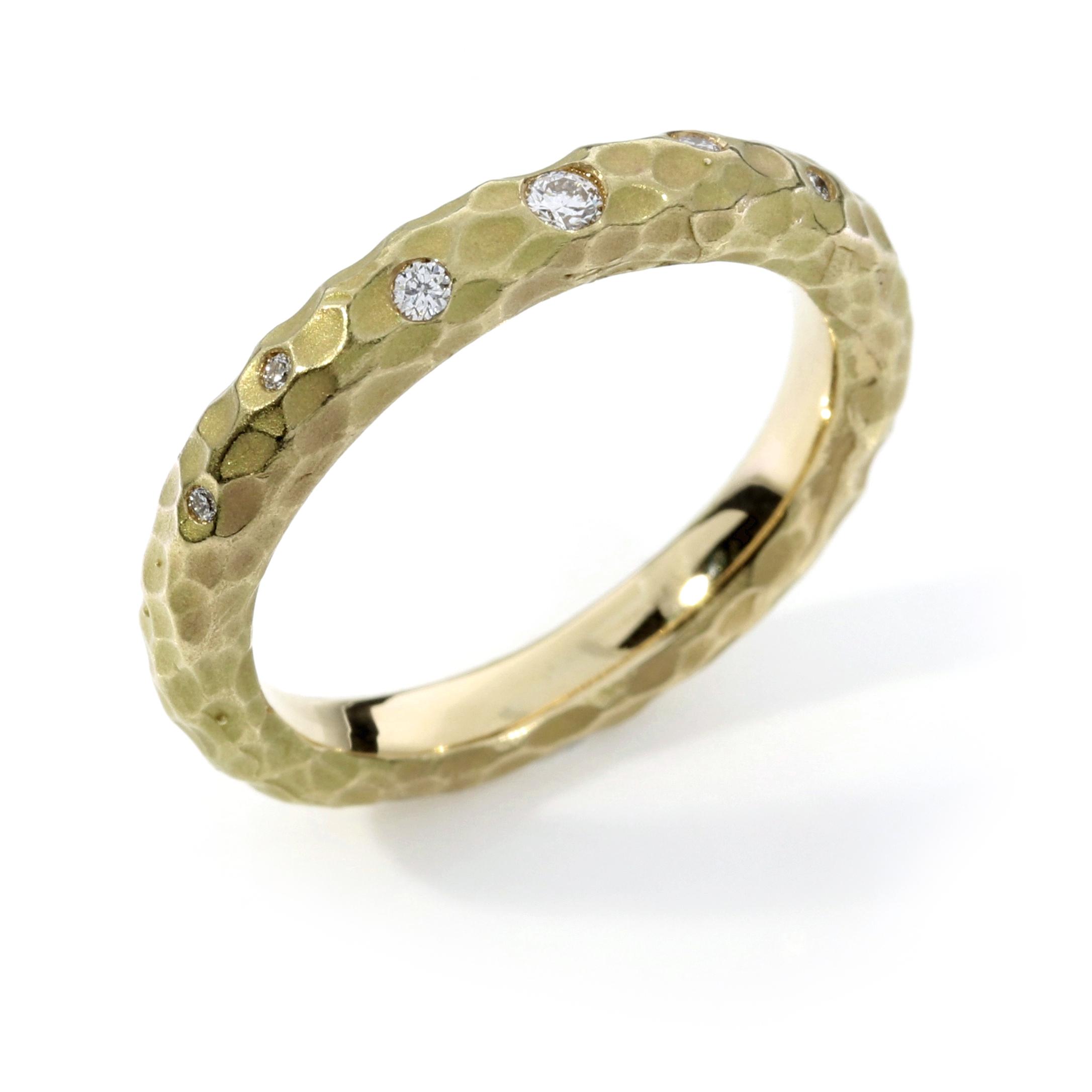 Verlobungsring Fairtrade Gelbgold Brillanten Australien (251232)
